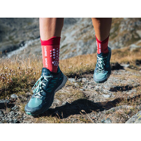 Compressport Pro Racing V3.0 Trail Socks garnet rose